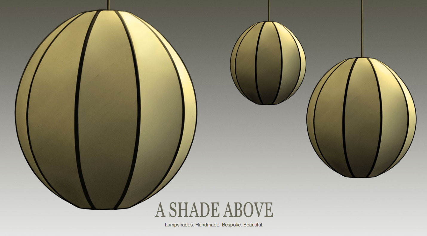 Website Design Project for A Shade Above
