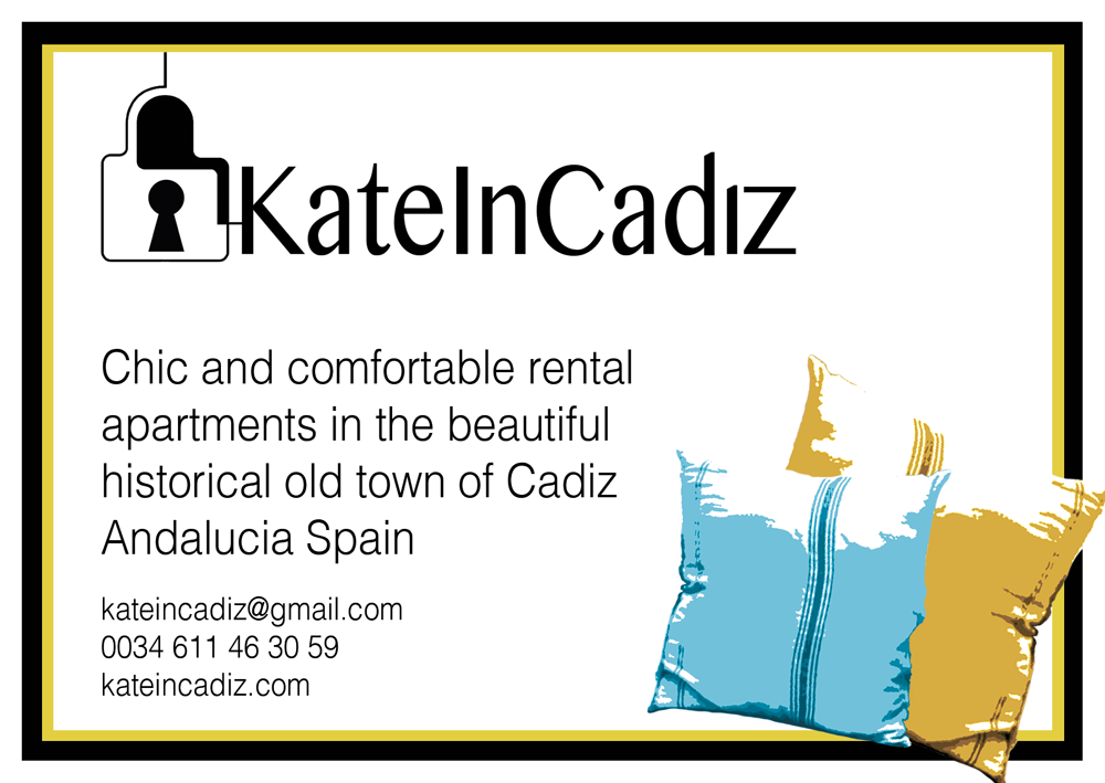 Flyer for Kate In Cadiz