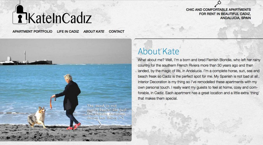 Kate In Cadiz
