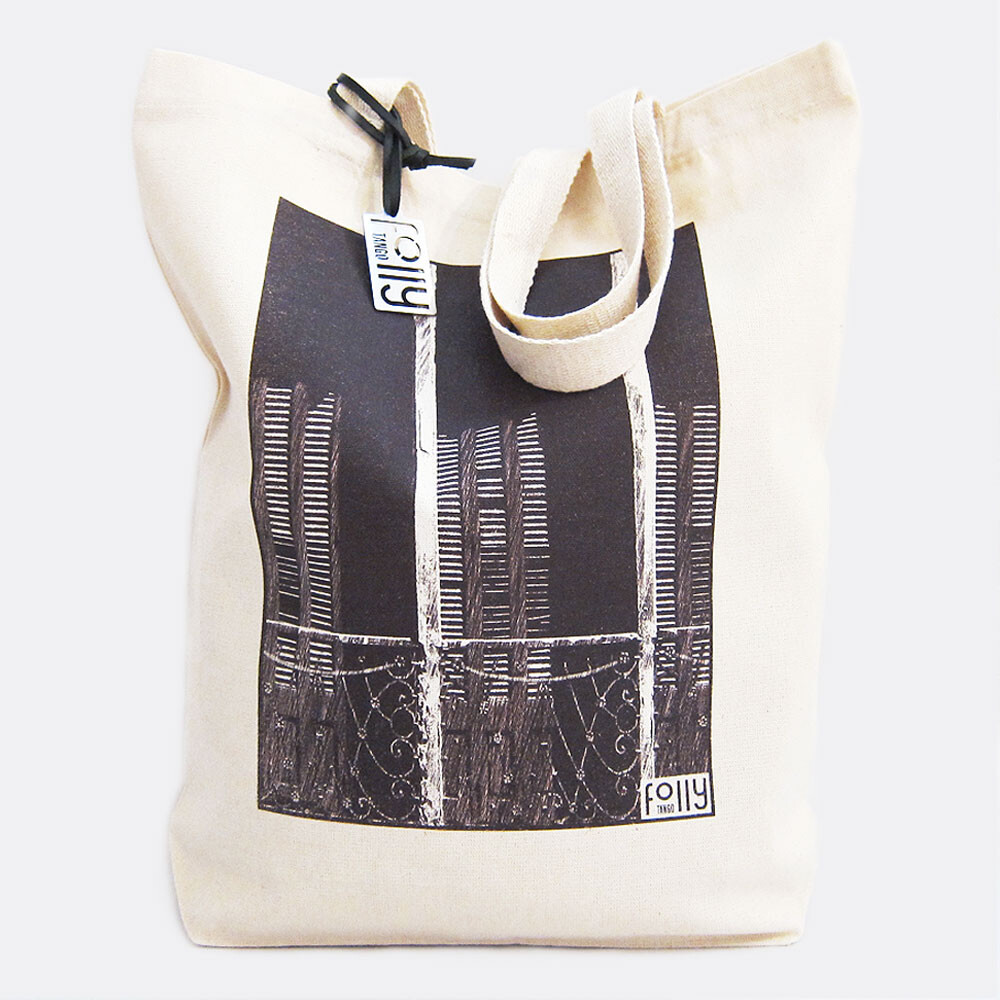 Canvas Tote Bag for Argentine Tango at tangofolly.com