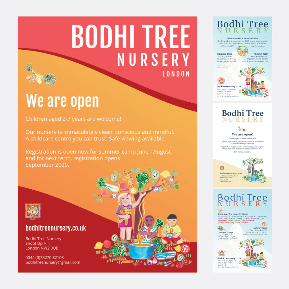 Poster for Bodhi Tree Nursery