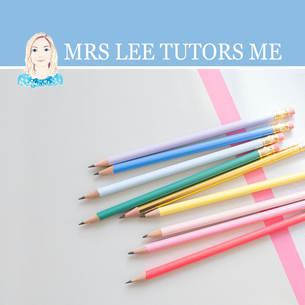 Mrs Lee Tutors Me